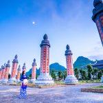 Vườn Cột Kinh Tam Chúc